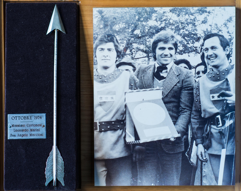III - Ottobre 1974, Arcieri: Massimo Cortonesi e Marini Leonardo, Presidente: Angelo Maccioni