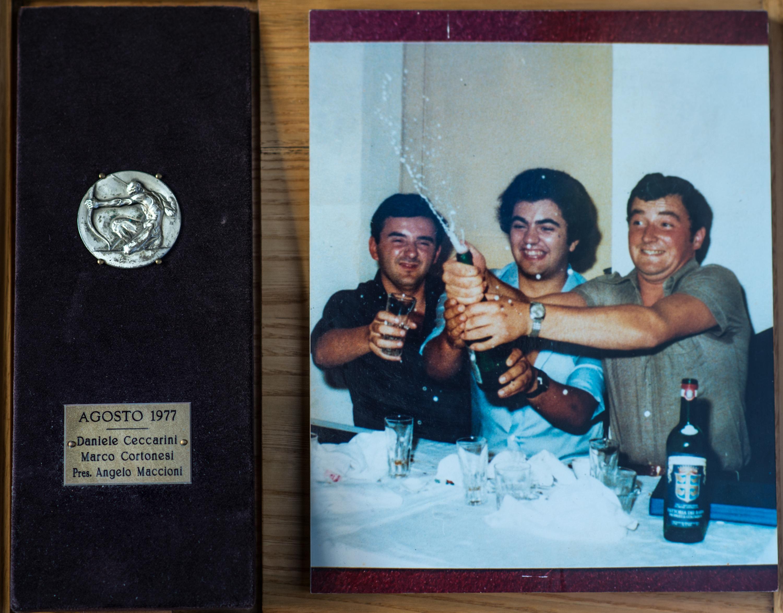 IV - Agosto 1977, Arcieri: Daniele Ceccarini e Marco Cortonesi, Presidente: Angelo Maccioni