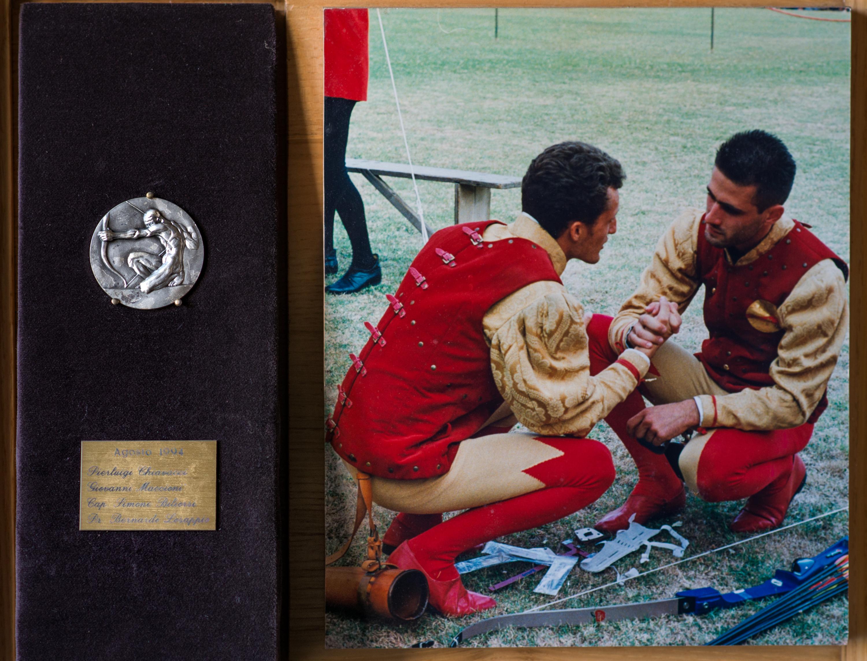 X - Agosto 1994, Arcieri: Pierluigi Chiavacci e Giovanni Maccioni, Capitano degli Arcieri: Simone Biliorsi, Presidente: Bernardo Losappio