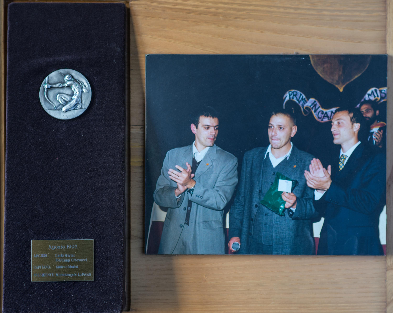 XIII - Agosto 1997, Arcieri: Pierluigi Chiavacci e Carlo Marini, Capitano degli Arcieri: Andrea Marini, Presidente: Michelangelo Lopresti