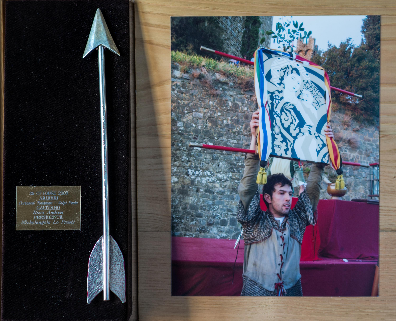 XVII - Ottobre 2008, Arcieri: Tommaso Cortonesi e Paolo Volpi, Capitano degli Arcieri: Andrea Ricci, Presidente: Michelangelo Lopresti