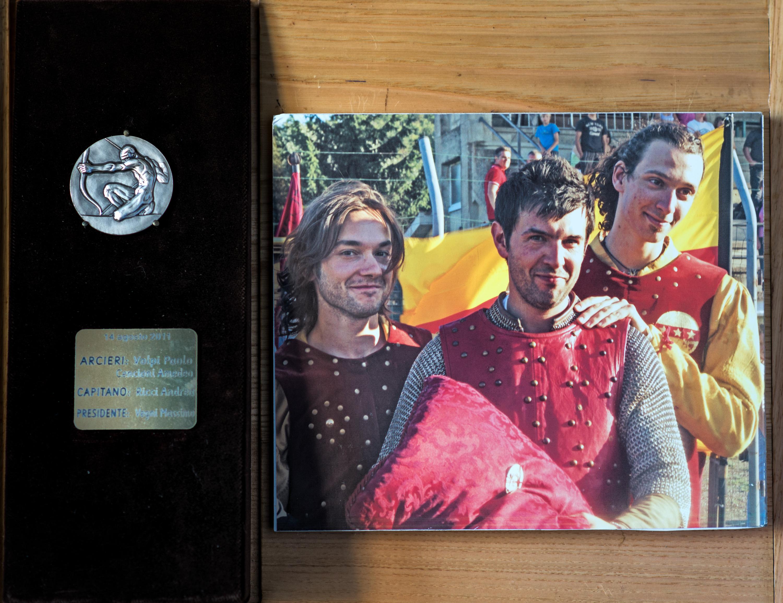 XVIII - Agosto 2011, Arcieri: Paolo Volpi e Amedeo Cencioni, Capitano degli Arcieri: Andrea Ricci, Presidente: Massimo Vegni