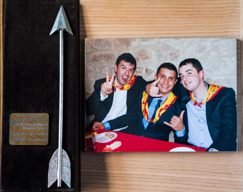 XIX - Ottobre 2012, Arcieri: Andrea Manduca e Tommaso Cortonesi, Capitano degli Arcieri: Andrea Ricci, Presidente: Massimo Vegni