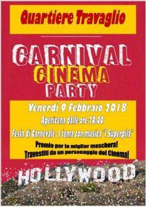 Venerdi' 9 Febbraio Carnival Cinema Party