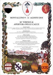Programma 56° TORNEO DI APERTURA DELLE CACCE